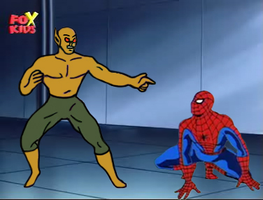 Spider-Man fought Vermin